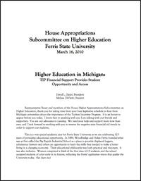 Ferris State University President