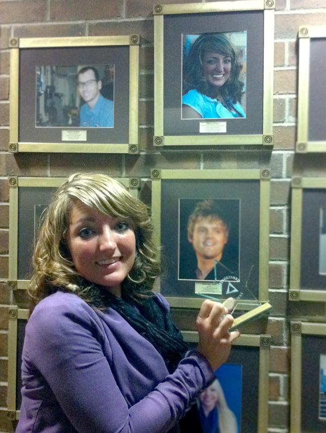 distinguished alumni Melissa DiVietri