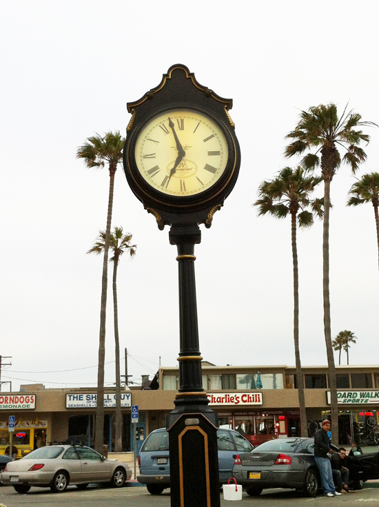 Watching Time in Newport Beach, California