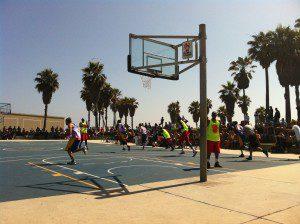 Venice Beach Boardwalk Basketball