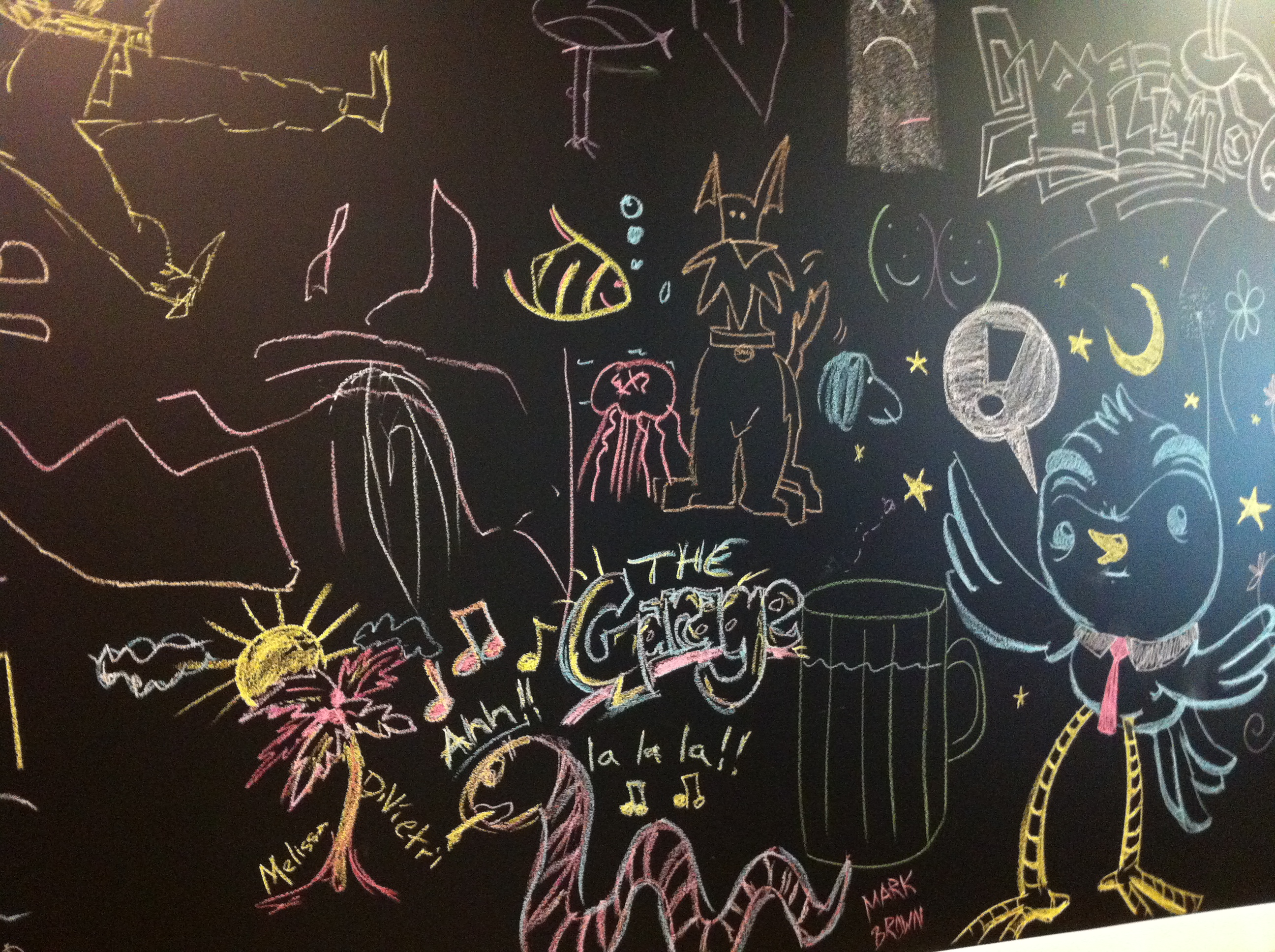 The Chalk Wall @ The Garage