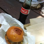 Quick Lunch - Burger & Bottled Coke