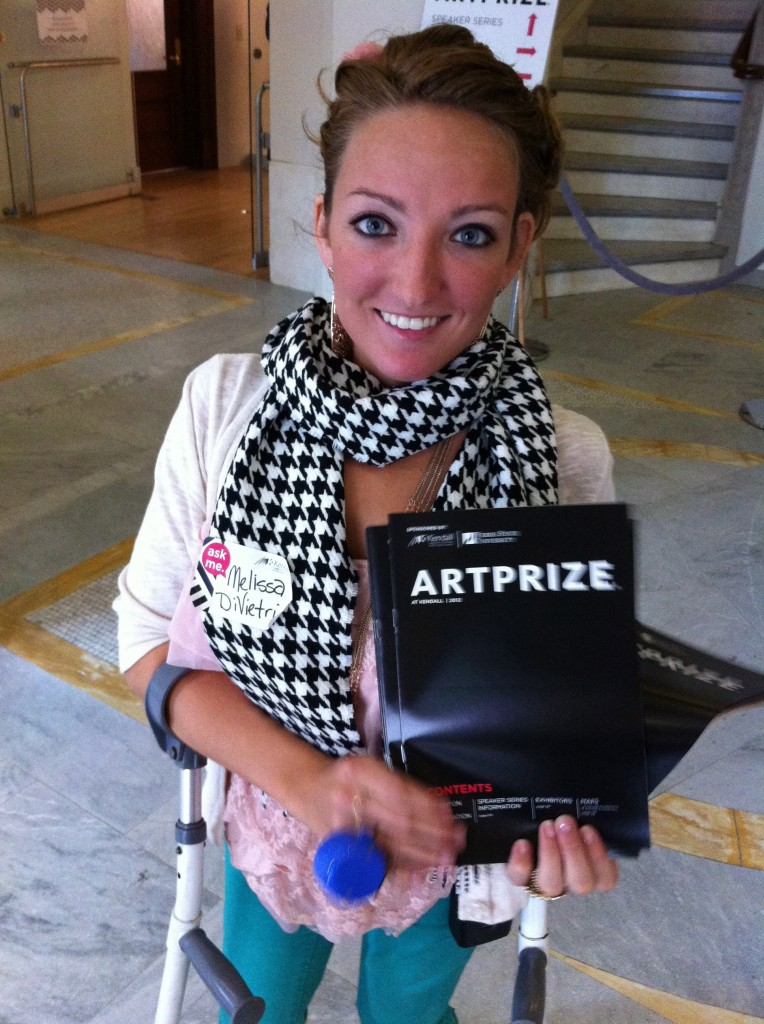 Volunteer Melissa DiVietri