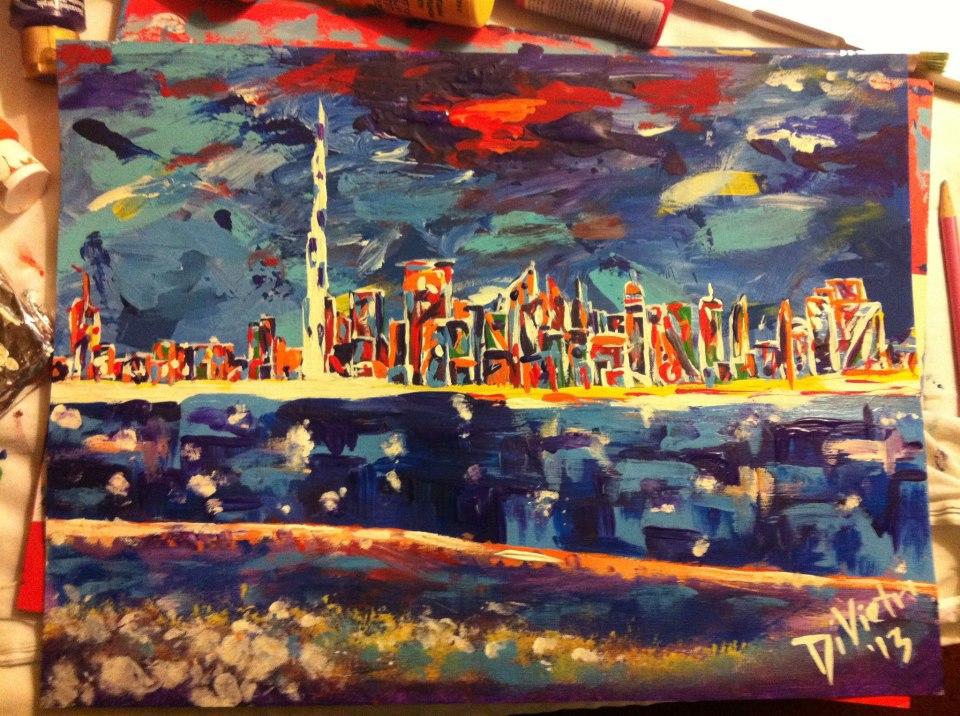 Dubai Abstract