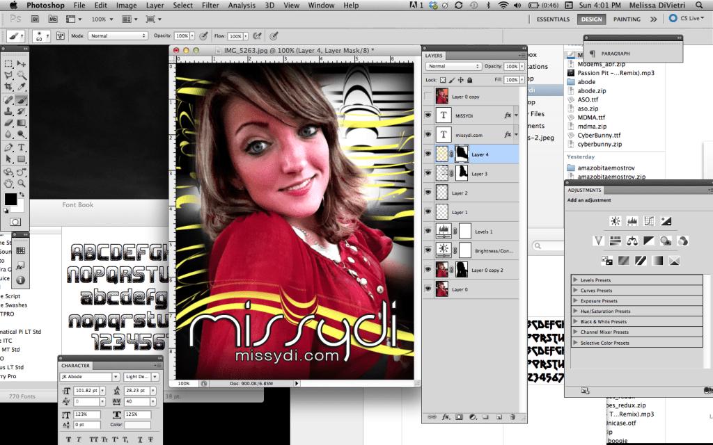Melissa DiVietri Graphic Design