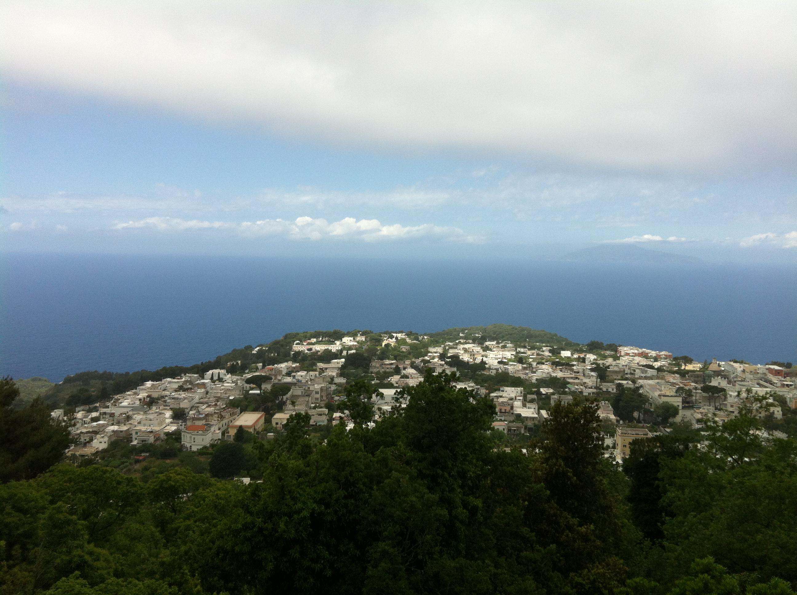 Chairlift to Capri