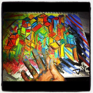 Cityscape Pastels