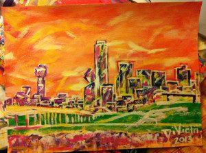Dallas Abstract