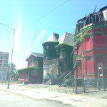 Blimp in Detroit