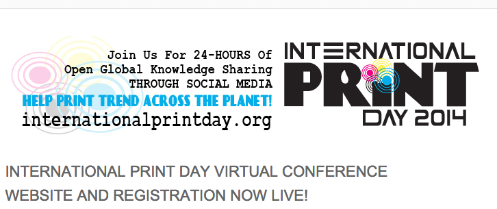 INternational Print Day - Oct 8
