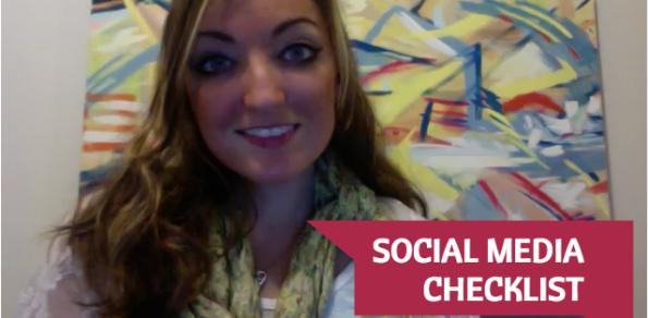 Social Media Check-List