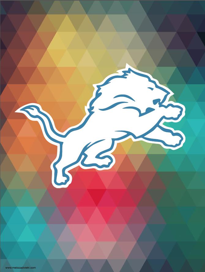 Detroit Lions Painting