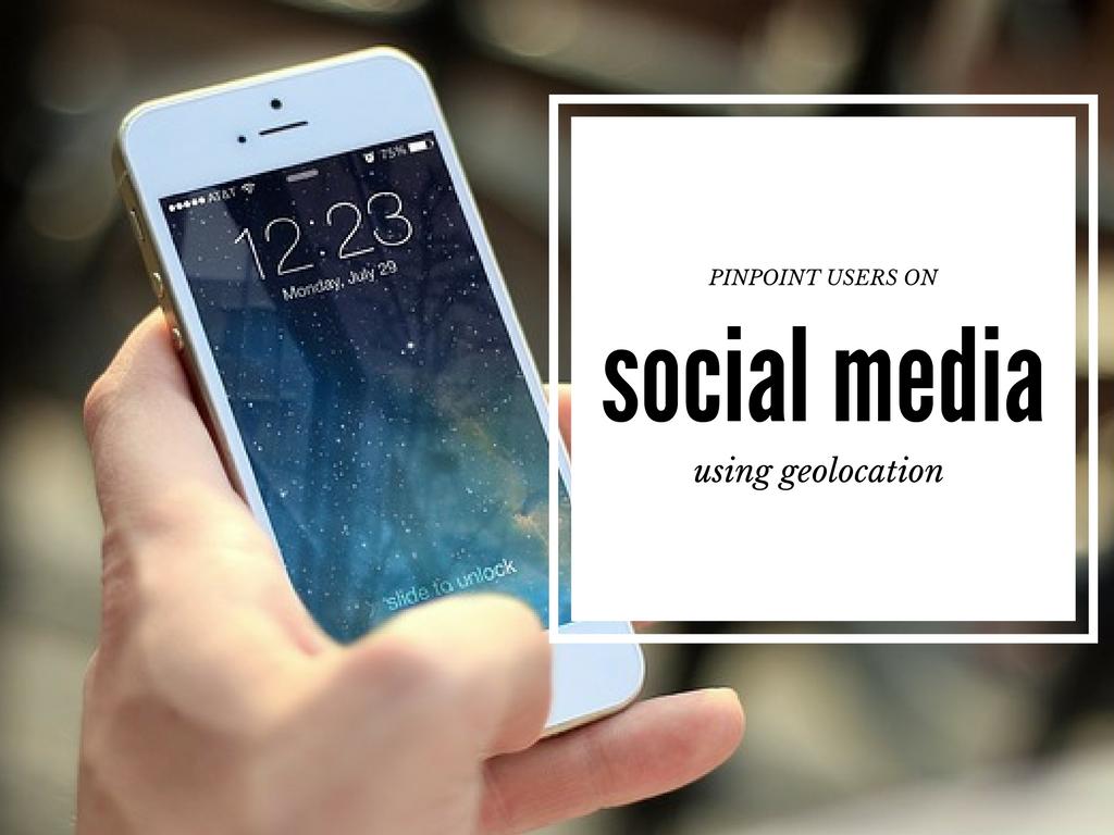 geolocation social media