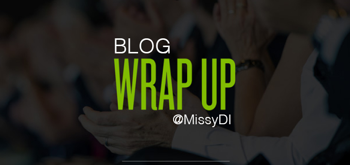 weekly blog wrap up