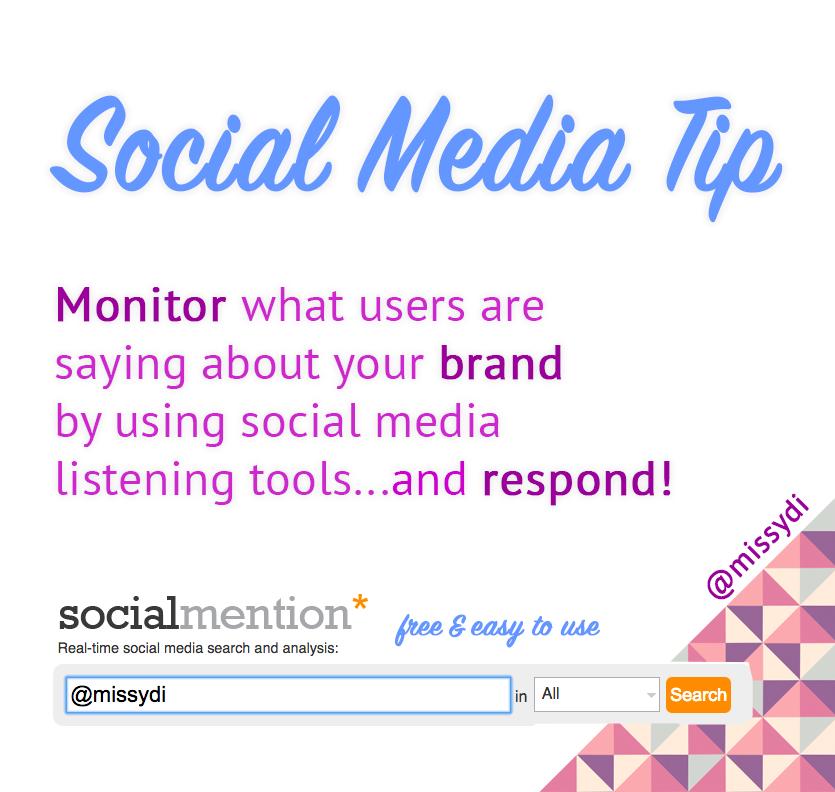 social media tip