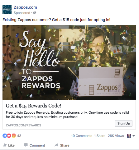 social media advertisements