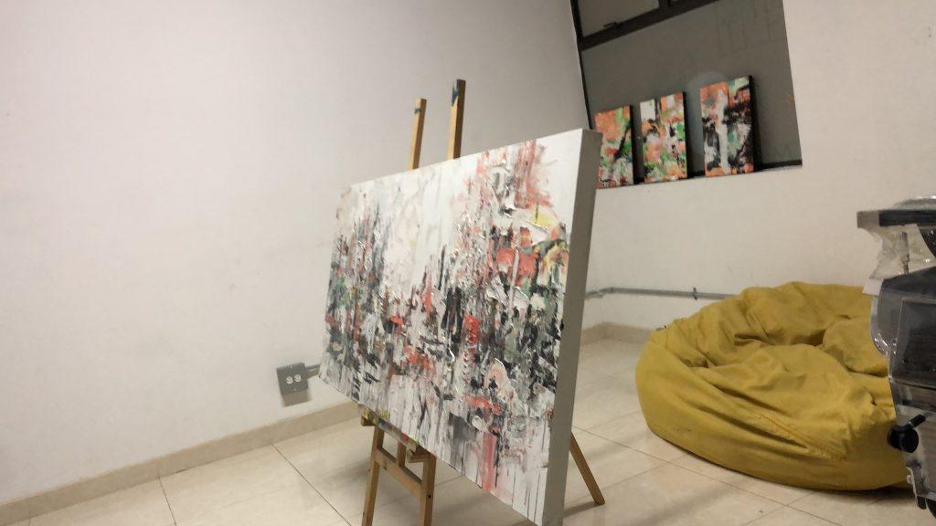 melissa divietri first painting