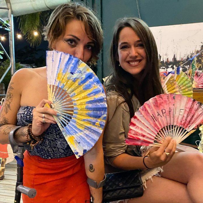 paper fans