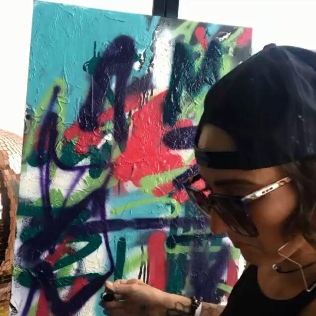 abstract artist melissa divietri